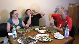 Американцы пробуют Русскую еду - часть 1(, 2015-11-07T09:57:06.000Z)