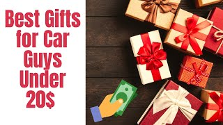 Best Gifts for Car Guys Under 20$ Holiday Gift Shopping Guide