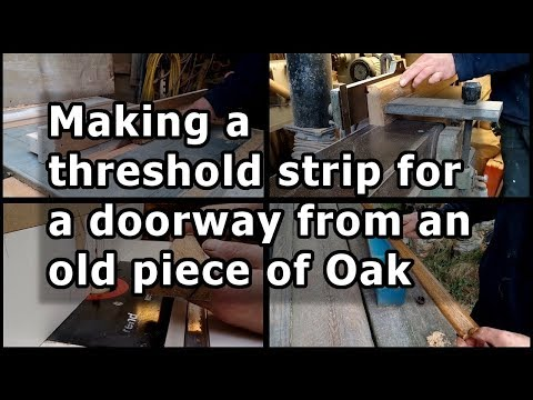 Making A Threshold Strip For Doorway