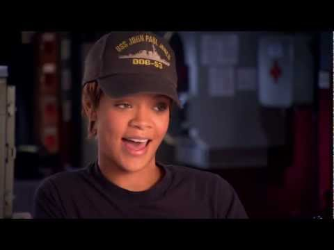 Rihanna Talks First Starring Role In 'Battleship'