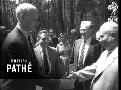 Khruschev Meets European Writers   1963