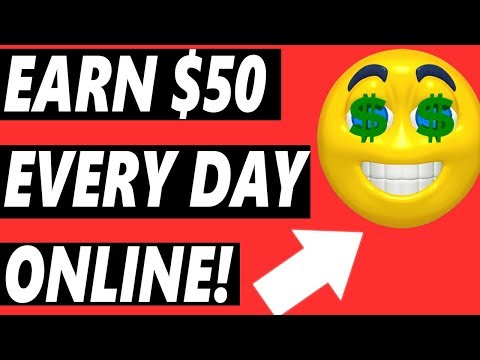 Earn $50 Per Day Online - Work From Home - FOR EVERYONE!