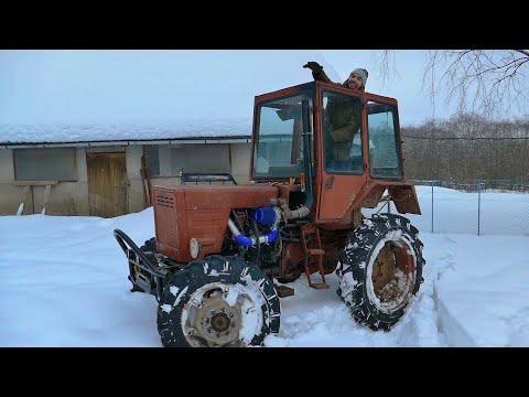 Лифтуем Турбо-Трактор, ставим