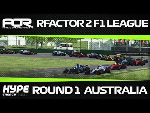 rFactor 2 - AOR Formula 1 2018 - Season 1 - Round 1 - Australia