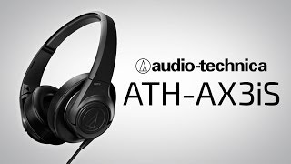 audio Technica ATH AX3iS обзор review