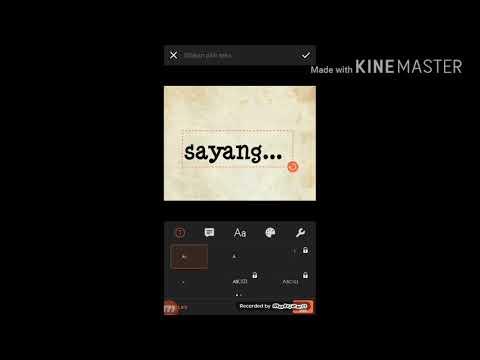 Tuterial cara bikin vidio berbentuk teks di aplikasi vivavidio