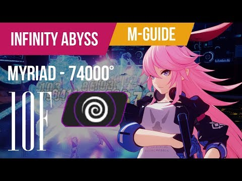 [Honkai Impact 3rd] Myriad Abyss 10F at 74000° plus Mini-Guide for DP+GM Bossing