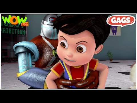 Vir: The Robot Boy |  Compilation #10 - As seen on Hungama TV | Action Show For Kids | WowKidz