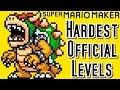 Super Mario Maker TOP 3 HARDEST Official