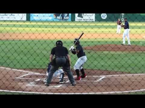 Domingo Leyba - 2B - Arizona Diamondbacks (Visalia Rawhide)