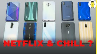 Massive HD streaming test - can these phones under Rs 20,000 play HD videos on Netflix?