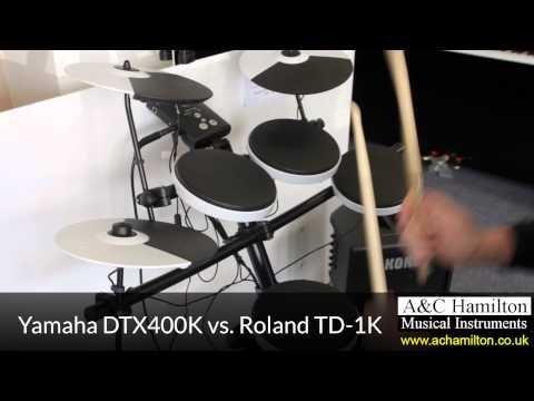 Roland TD-1K vs Yamaha DTX400K Electronic Drum Kit - A&C Hamilton