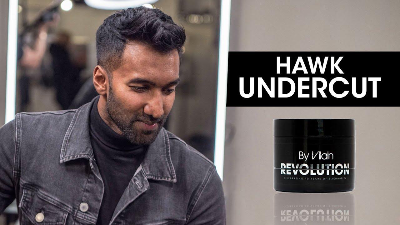 Hawk Undercut 2020 Men S Short Hair Youtube