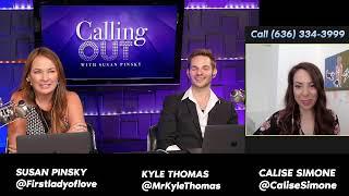 #CallingOut Covid-19 with Susan Pinsky, Astrologist Kyle Thomas and Medium Calise Simone.