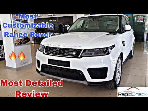2019 Range Rover Sport Detailed Review India - Interior Exterior and all Features Explained