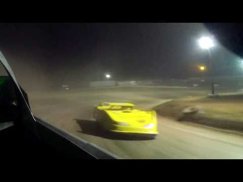 9/3/2017 Gillette Thunder Speedway heat race (in car rear)