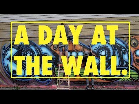 A DAY AT THE WALL.