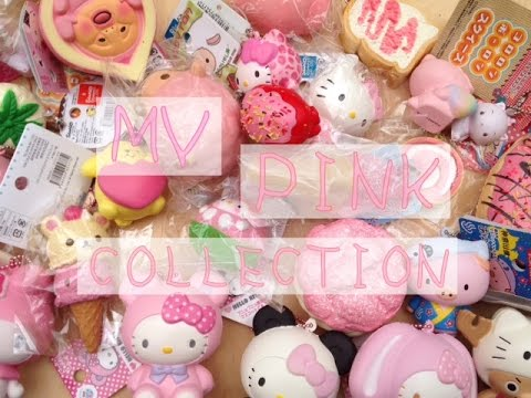 Pink Squishy Collection - YouTube