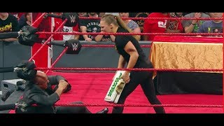 Ronda Rousey Suspended from Raw WWE! Kurt Angle Suspends Ronda Rousey for 30 days
