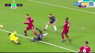 great arabic  commentator on liverpool 3 vs man.untd 1