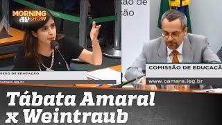 Deputada Tabata Amaral diz que vai processar ministro da Educação
