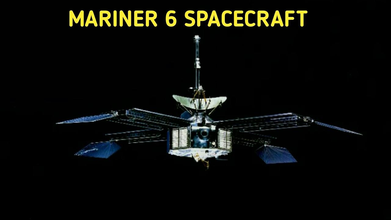 mariner 10 space probe - 888×500