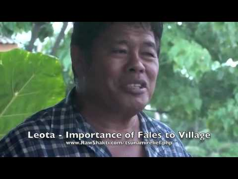 Leota Importance of Fales to Village
