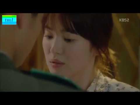 Descendants of the Sun kissing scene (subtitle Indonesia)