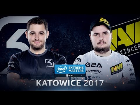 CS:GO - SK Vs. Na'Vi [Overpass] - Group B - IEM Katowice 2017