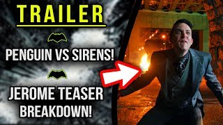 Jerome 4x11 Fall Finale Teaser! Penguin vs Sirens! - Gotham 4x10 Trailer Breakdown!