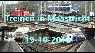 Treinen in Maastricht (NL) (19-10-2018)
