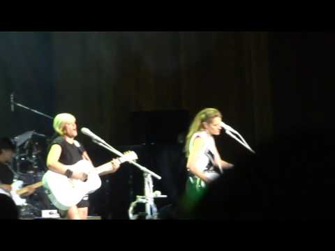 Dixie Chicks MISSISSIPPI BOB DYLAN SHERYL CROW COVER Cleveland Ohio Blossom Music Center June 3 2016