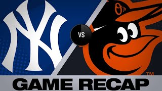 5/20/19: Sanchez's go-ahead HR lifts Yanks past O's