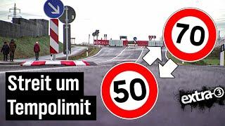 Realer Irrsinn: Streit um Tempolimit verzögert Straßeneröffnung