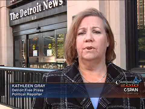 LCV Interview with Kathleen Gray, Detroit Free Press, Political Reporter