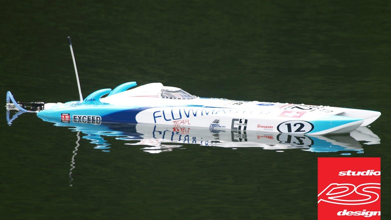 Exceed Racing Flowmaster Catamaran Rc Boat 650mm Youtube