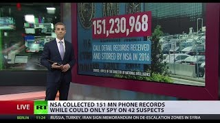 Listening In  NSA collected & stored 151 million call records in 2016