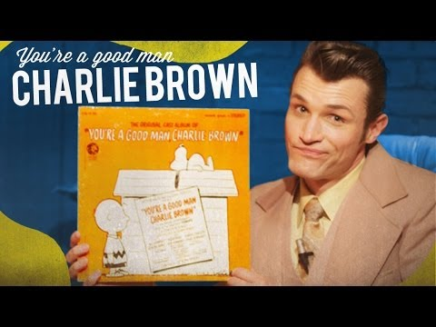 You're A Good Man Charlie Brown original cast recording vinyl review