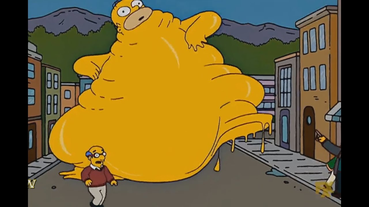 Download The Simpsons  - Homer Obesity Eats Everything!