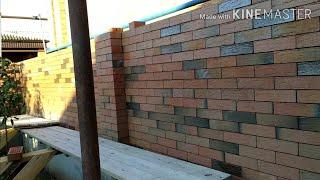 Строим забор декор-кладка баварская бесшовная кладка лофт от-dekor sorunsuz duvar ustası Çeçenya