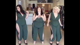 Plus Size Spring 2018 Lookbook - OOTDs - OOTNs