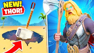*NEW* THOR in Fortnite! (EPIC'S BIG SECRET)