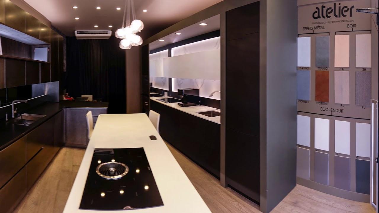 Showroom Lineaquattro Paris Cuisine Haut De Gamme Luxe Youtube