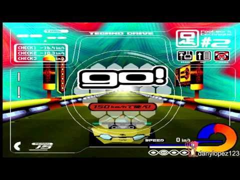 Techno Drive working on Mame 0.177 + Full Playthrough (60 FPS)