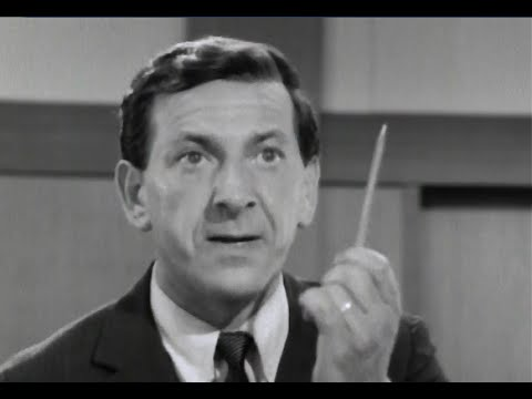 "Jack Klugman explains the law on ""The Defenders"" (1961-65)"