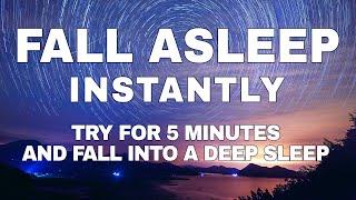 [Just Listen for 5 Minutes] FALL ASLEEP FAST   DEEP SLEEP RELAXING MUSIC