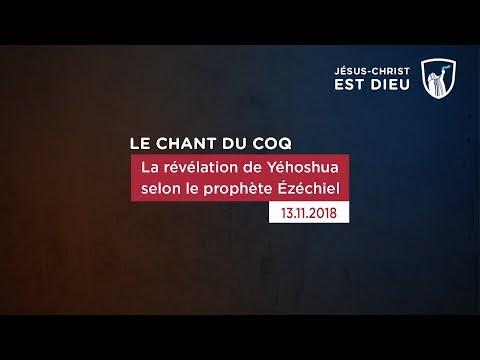 La révélation de Yehoshua selon le prophète Ézéchiel (Shora KUETU - 13/11/18)