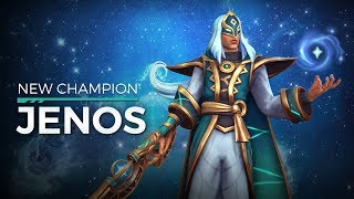 JENOS THE ASCENDED NEW SUPPORT (DAMAGE!) OB55 TOP DAMAGE & HEALING!