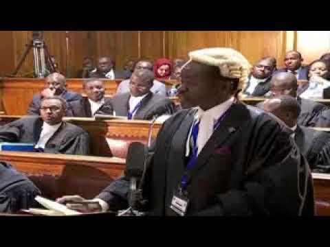 PLO Lumumba Vs NASA. Lumumba destroys NASA at the Supreme Court.