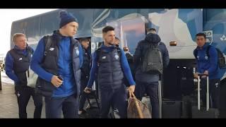Динамо прибывает в Борисполь для вылета на первый тренировочный сбор в составе один новичок